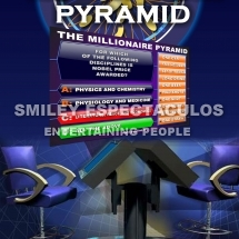 POSTER THE MILLIONAIRE PYRAMID