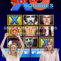 POSTER SUPERSTAR SQUARES